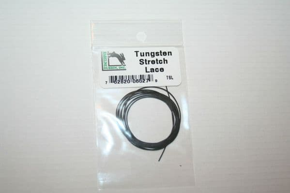 Fly Tying Tungsten Stretchy Nymph Lace create profile and weight easily